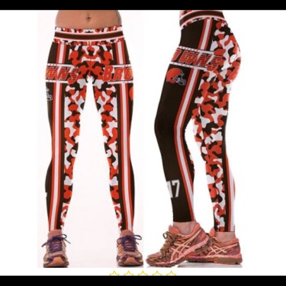 77413c64 Cleveland browns leggings